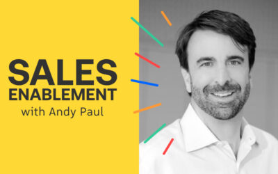 Sales Enablement with Andy Paul Mr. Monkey and Me, with Mike Smerklo [Episode 866]